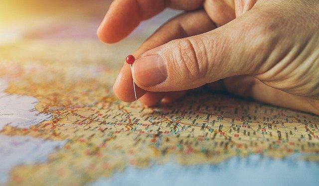 地図にポイントする