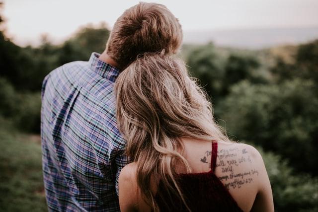 恋愛しているカップル