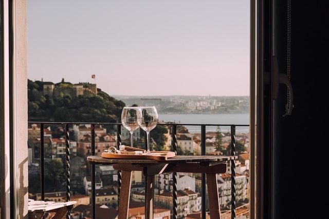 ロマンチックなテーブル