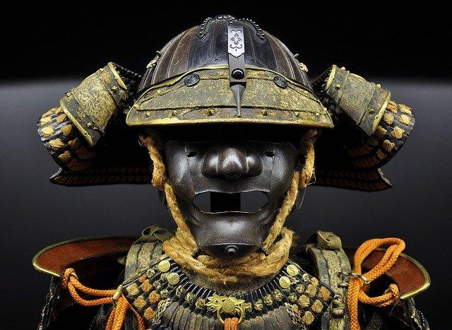 戦国時代に活躍した侍の甲冑