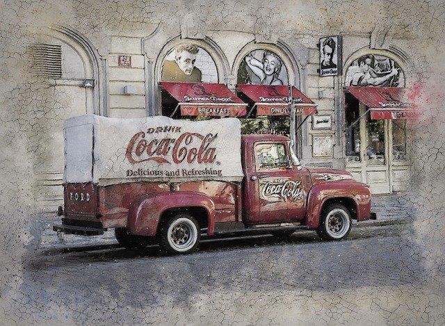 コカコーラの車