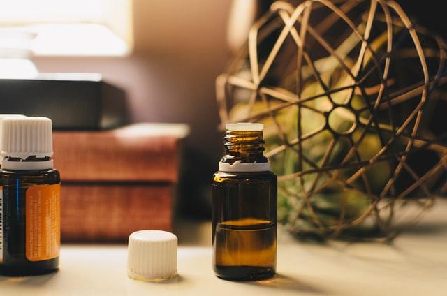 亜麻仁油の瓶